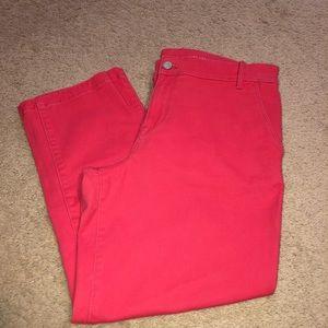 Calvin Klein Crop Jeans
